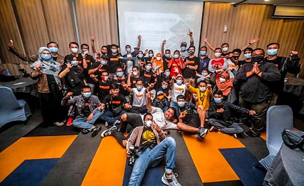 Keseruan Acara 1st Anniversary Instanusantara Karawang Bekasi
