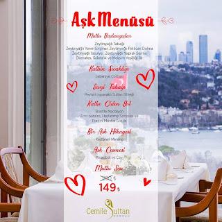 cemile sultan korusu sevgililer günü boğaz manzaralı yemek istanbul