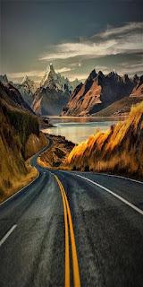 Wallpaper WA pemandangan gunung