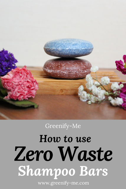 How to Use Zero Waste Shampoo Bars