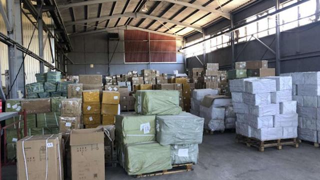 ΣΔΟΕ: Τεράστια κατάσχεση προϊόντων «μαϊμού» σε Ίλιον και Κρήτη