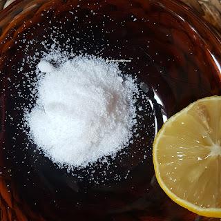 Deniz tuzu-limon