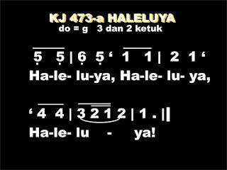 KJ. 473 HALELUYA