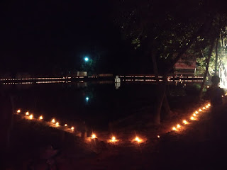 কমলগঞ্জে দীপাবলী উপলক্ষে সতেরশ দ্বীপ প্রজ্বলন