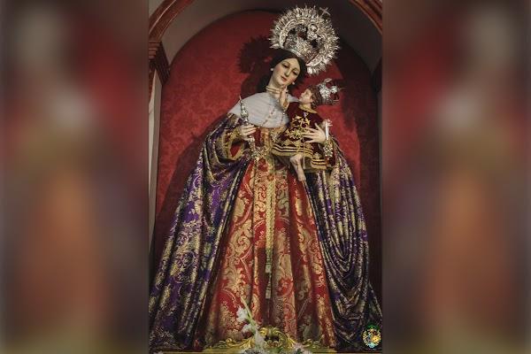 Nuestra Señora de las Viñas ya es titular de la Hermandad de la Exaltación de Jerez