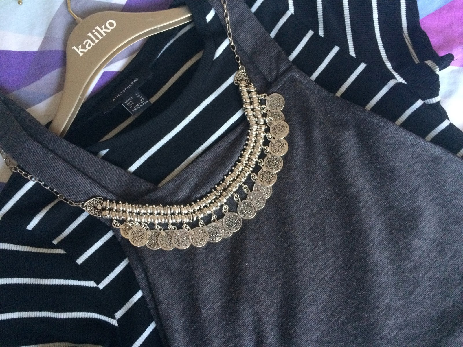 Coins Statement Necklace | Happiness Boutique - Aspiring Londoner