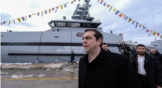 Πλοίο του λιμενικού πήγε οπαδούς του ΣΥΡΙΖΑ στη Σαμοθράκη για να χειροκροτήσουν τον Τσίπρα