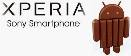 Sony Xperia Android 4.4 KitKat Updates