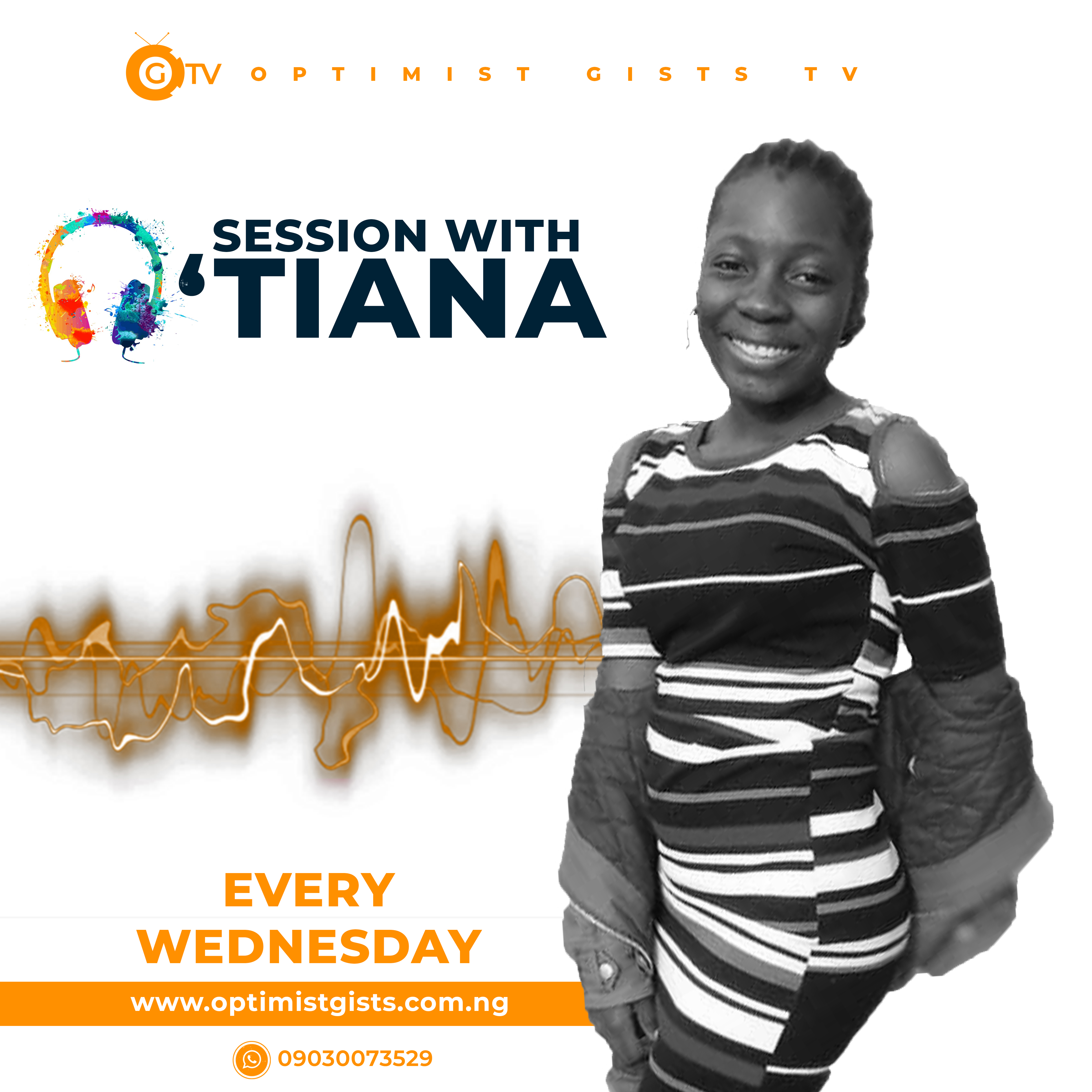 session with Tiana