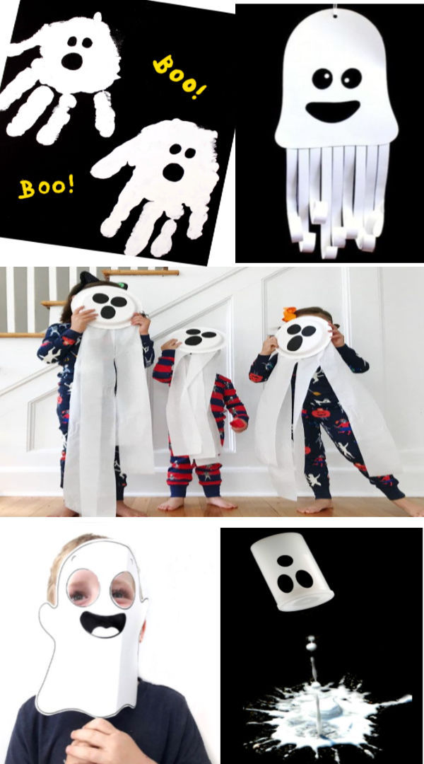 Ghost crafts and activities for kids including a recipe for GHOST FOAM! #ghost #ghostdrawing #ghostfoam #ghostfoamrecipe #ghostfoamcraft #ghostcraftsforkids #ghostcrafts #ghostrecipes #ghostartprojectsforkids #ghostmud #ghostplaydough #halloweenactivities #halloweenartsandcraftsforkids #growingajeweledrose #activitiesforkids