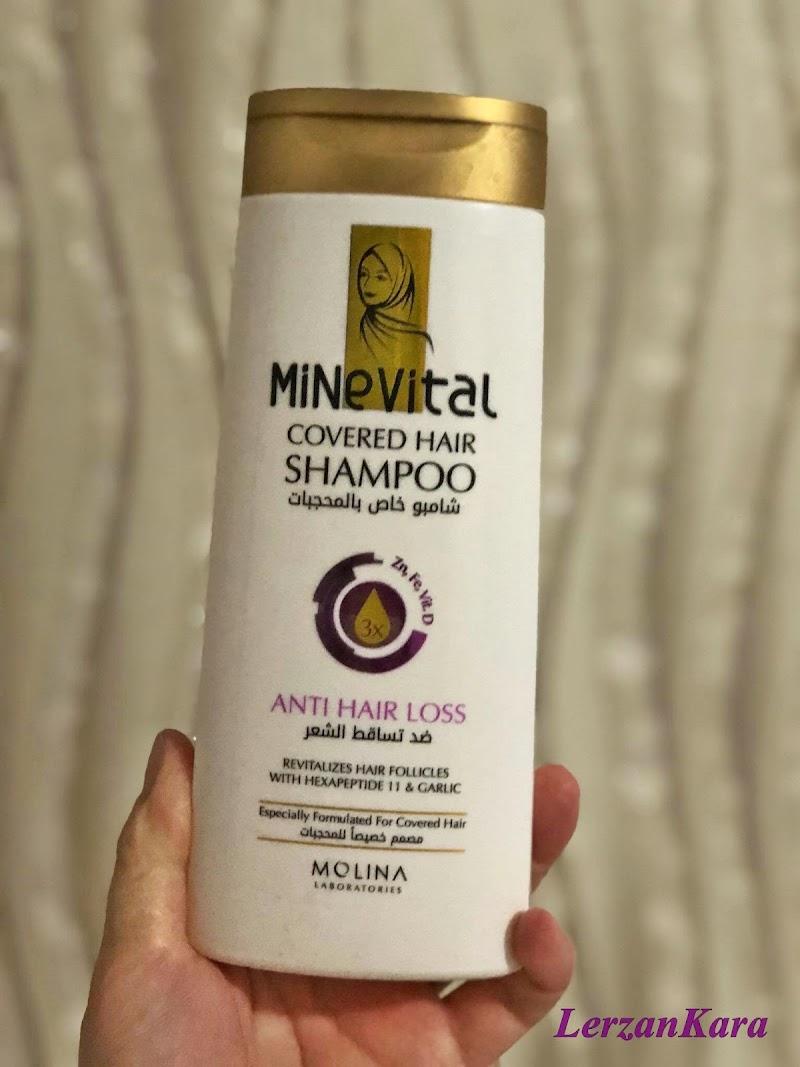 Minevital Kapalı Saçlar İçin Dökülme Karşıtı Şampuan