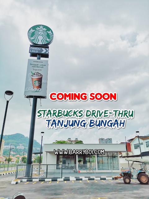 Starbucks Drive-Thru Tanjung Bungah Penang