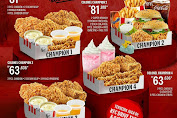 Promo KFC Paket Bigger Big Value COLONEL CHAMPION Mulai Rp 63.636