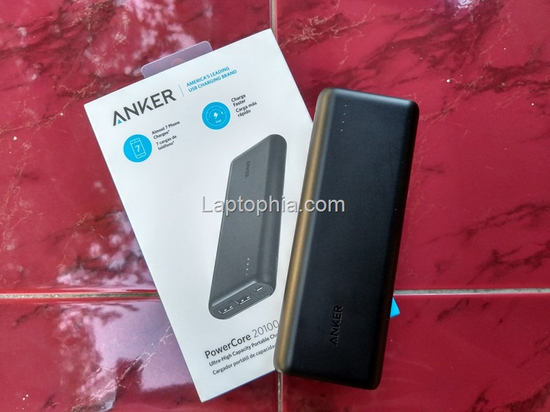 Desain Anker PowerCore 20100