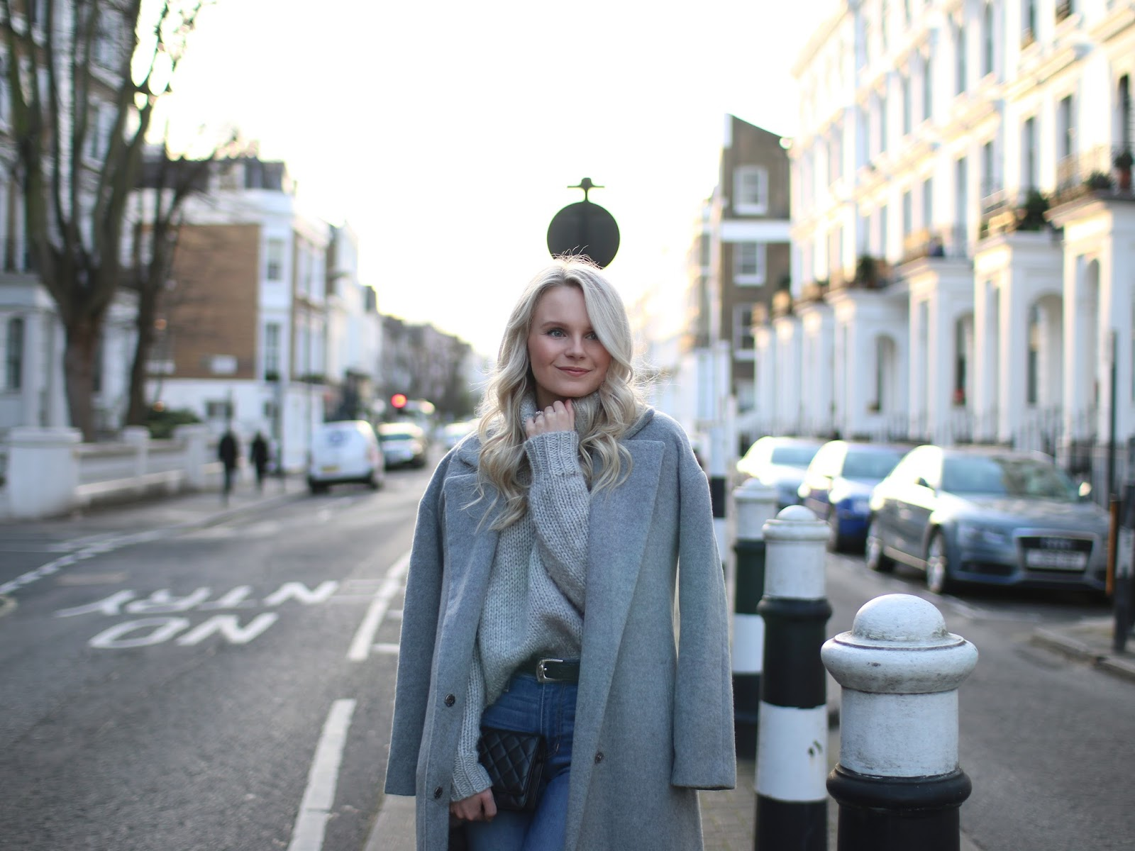 sunset photoshoot in notting hill