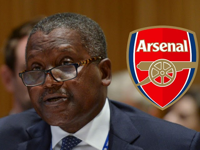 Dangote Arsenal Takeover Talks to Begin This Year?