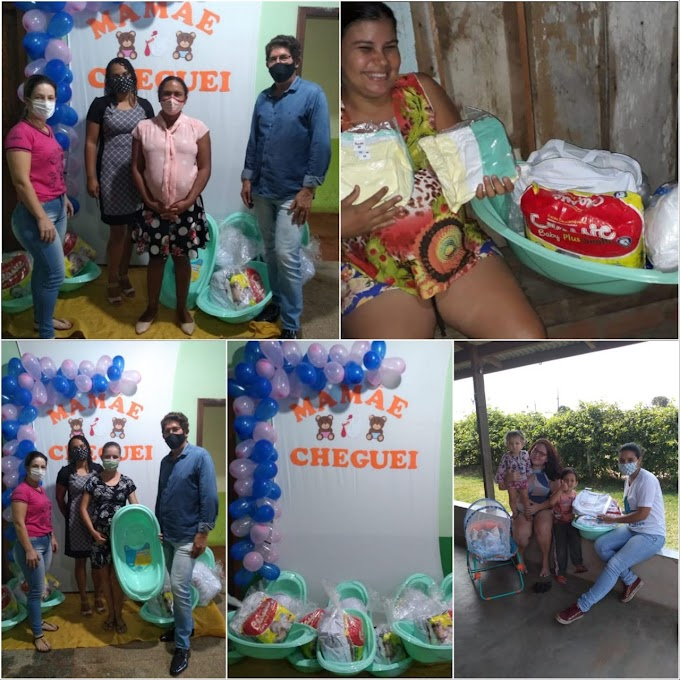 Município de Alta Floresta D'Oeste realiza, através da SEMTRAS, entrega dos kits do Programa Mamãe Cheguei