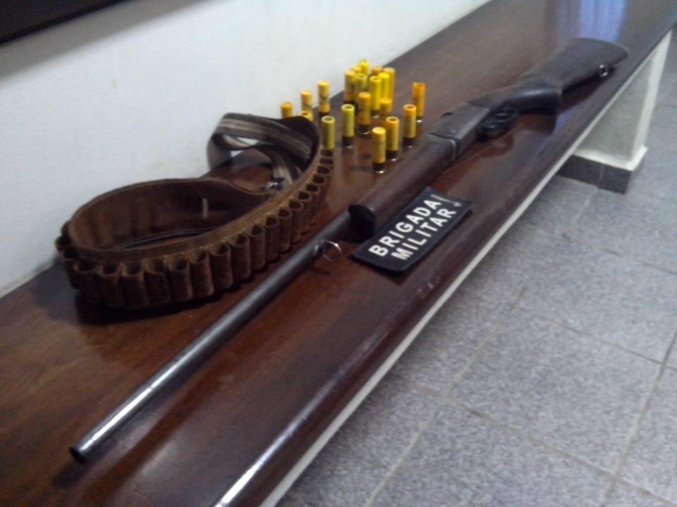 Pris o por les o corporal e posse de arma de fogo de uso for Uso e porte de arma