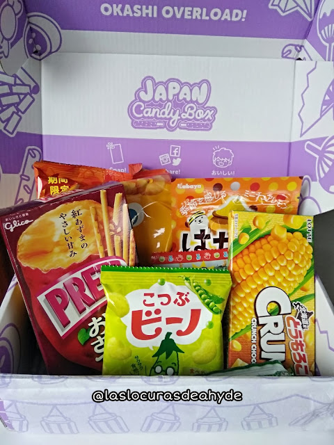 unboxing Japan Candy Box Noviembre