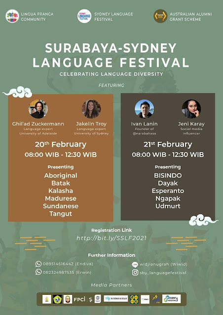 Belajar Banyak Bahasa di Surabaya-Sydney Language Festival