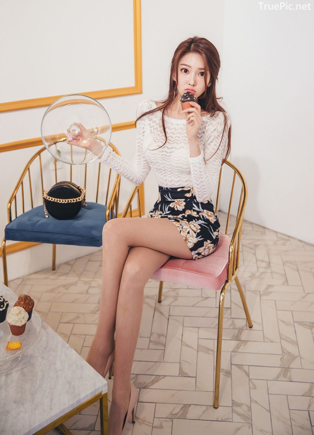 Park Jung Yoon - Korean Fashion Model - Casual Indoor Photoshoot - TruePic.net - Picture 8
