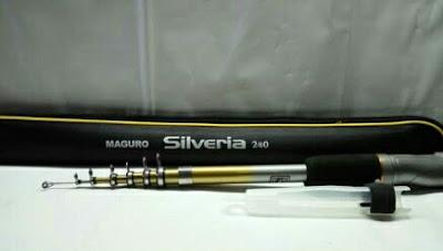 Joran Antena Maguro Silveria 180