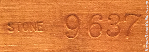 Stone Serial Number