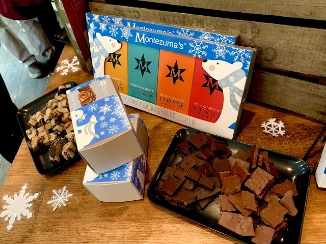Montezumas Christmas Marzipan Stollen & Christmas Bar Chocolate Collection