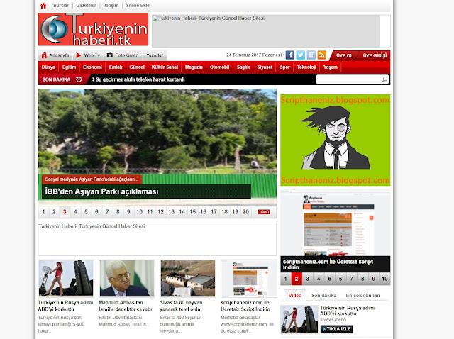 Wordpress 2500 Tane Haber Yazı İçerigi 2017