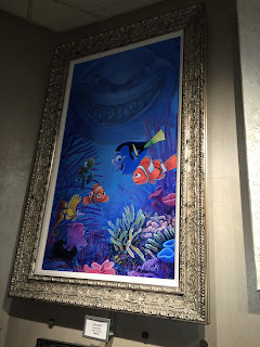 the art of disney epcot finding nemo print