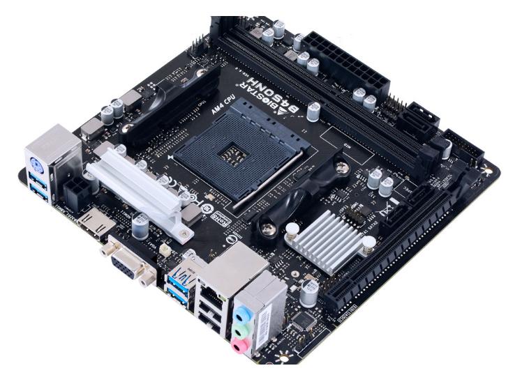 شريحة B450 من AMD تدخل في أصغر لوحة من Biostar!