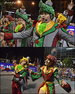 Desfile Inaugural del Carnaval. Uruguay. 2017. Humoristas No te comas los Morrones
