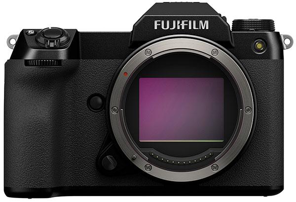 Fujifilm GFX 100S, вид спереди