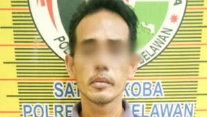 Pria Berusia 44 Tahun di Labuhan Deli di Tangkap Satuan Reserse Narkoba Polres Pelabuhan Belawan