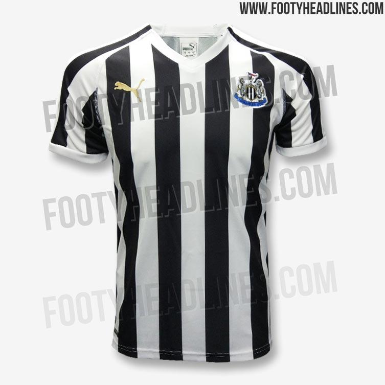 53e2c37dc86dd Newcastle United 18-19 Home Kit Released - Footy Headlines