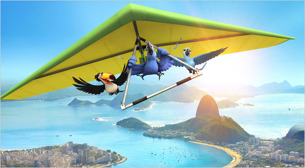 flying  Rio 2011 animatedfilmreviews.filminspector.com