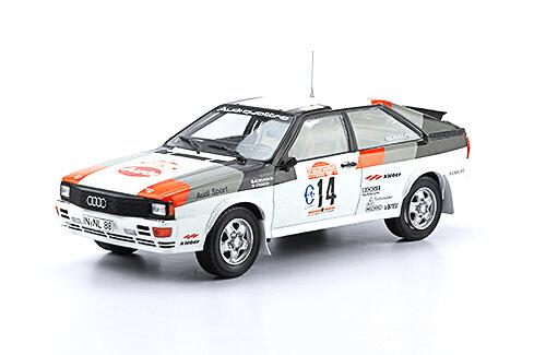 WRC collection 1:24 salvat españa, Audi Quatro A1 1:24
