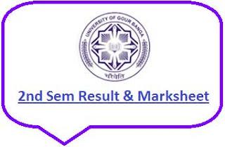 UGB 2nd Sem Result 2021