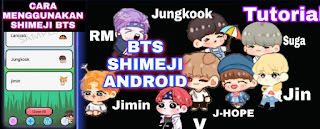 Cara Menggunakan Shimeji BTS di Hp