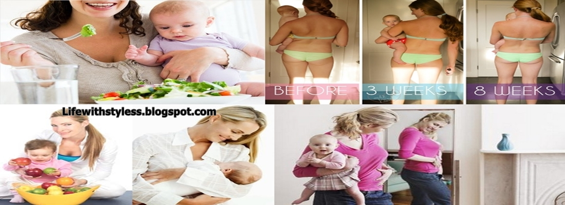 Weight Loss Diet Plan For Breastfeeding Mothers Life With Styles