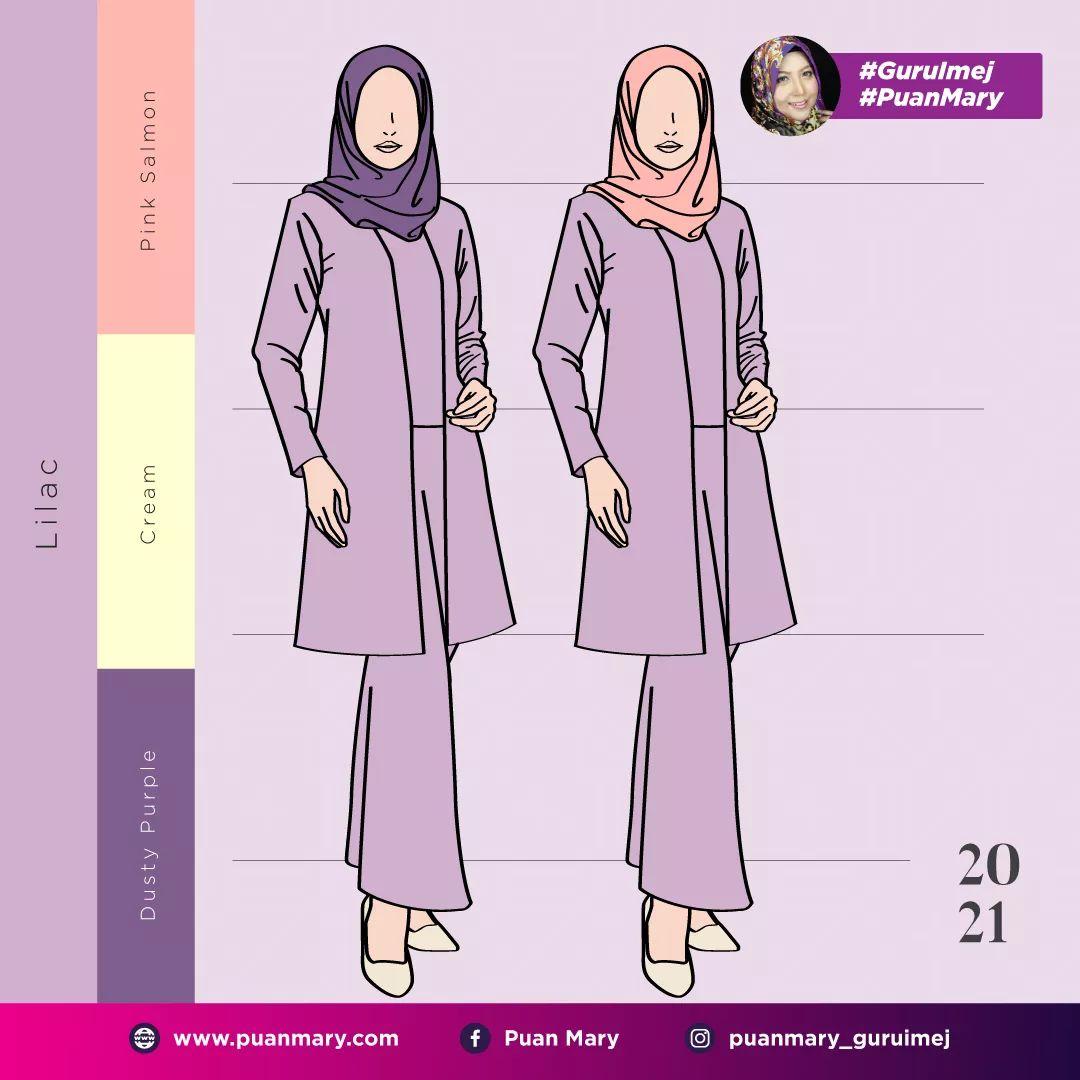 Padanan warna ungu