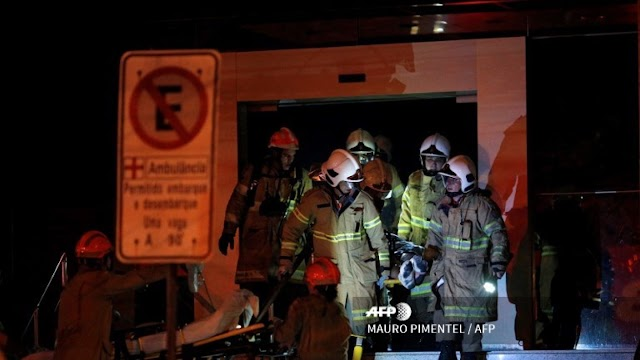 Incêndio em hospital no Rio mata ao menos 11 pessoas