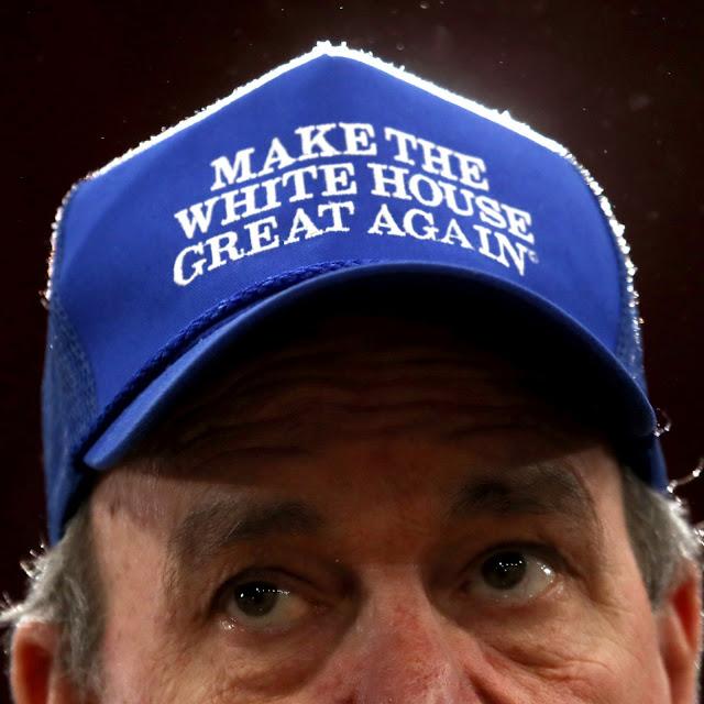 Make The White House Great Again blue hat Biden-Harris supporters MAGA.  PYGear.com