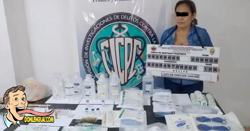 Auxiliar de laboratorio detenida por robarse las medicinas del Hospital Universitario