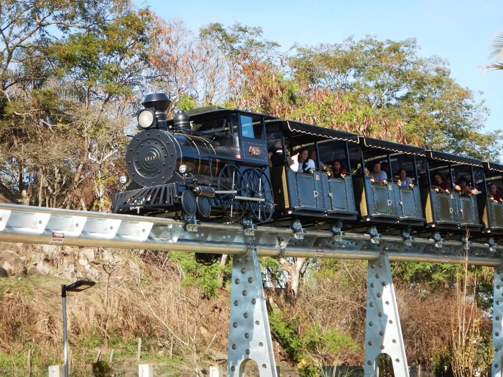 Passeio de trem em Aparecida Trem do Devoto