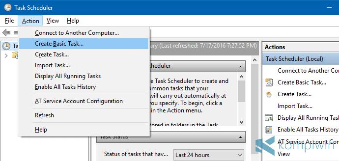 Cara Membuat Auto Shutdown Sendiri dengan Fitur Bawaan Windows Ini 7