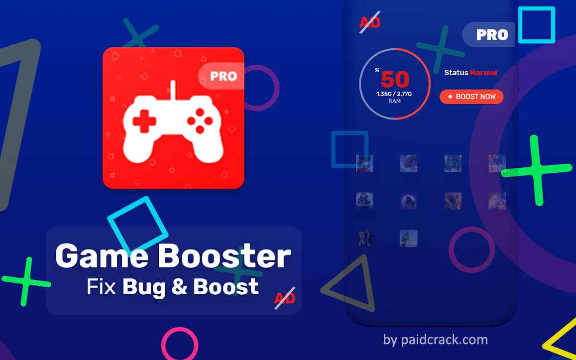 Game Booster Pro - Bug Fix & Boost Mod Apk 1.6.0.24r [Paid]