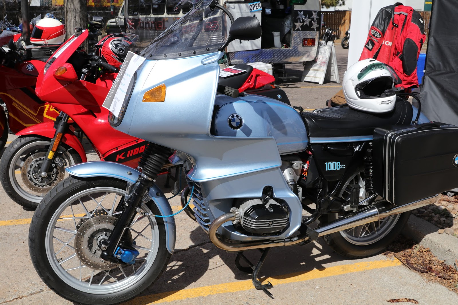 Oldmotodude 1977 Bmw R100rs On Display At The 2018 Classic Bike