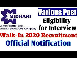 MISHRA DHATU NIGAM LIMITED MIDHANI RECRUITMENT FOR GRADUATE AND TRADE APPRENTICE WALK IN INTERVIEW @ apprenticeship.gov.in /2020/03/Midhani-Recruitment-for-Graduate-and-Trade-Apprentice-walk-in-Interview.html