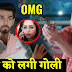 Big Shocker!  Rohit gets gunshot fighting Sonakshi's Ex-lover Karan in Kahan Hum Kahan Tum